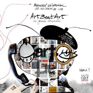 OK Art Beat Art Cartolina