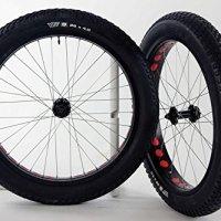 26 inch Weinmann Rims Fat Tire Bike Wheels 135 /170mm Hubs 26 x 4.0 Vee 8 Tires and Tubes