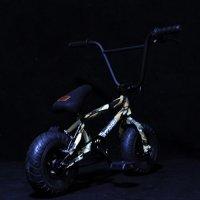 Fatboy Mini BMX Trick Bicycle Freestyle Bike Fat Tires Camo Assault