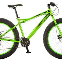 "Mongoose Aztec Wheel Fat Tire Bicycle, Green, 18""/Medium To Mongoose Juneau 26"" Fat Tire Bicycle Green, Medium frame size"