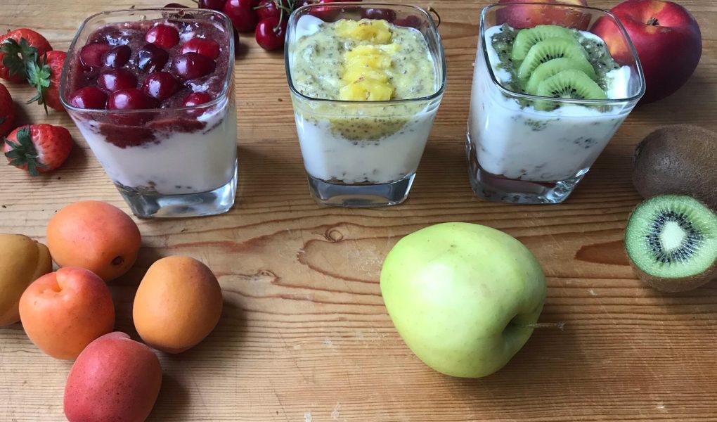 Bicchieri alla frutta
