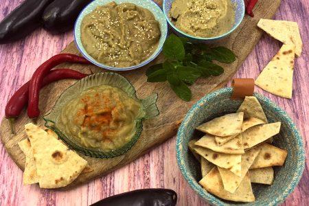 salsa di melanzane babaganoush