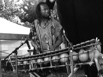 Abdoulaye Dembele au Balafon