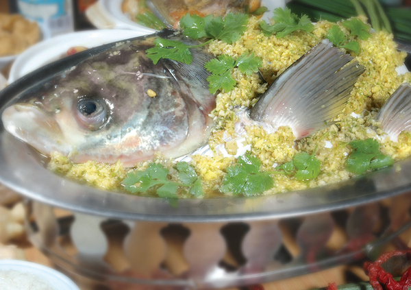 Steam Fish Head Old Klang Road KL Malaysia