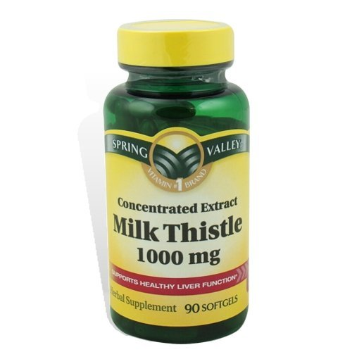 These are the Milk Thistle supplements that I am taking for my fatty liver