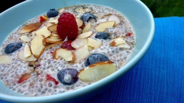 fatty liver breakfast ideas 01 chia pudding