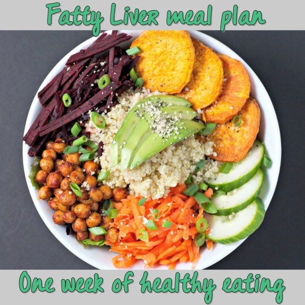 weekly meal plan for fatty liver