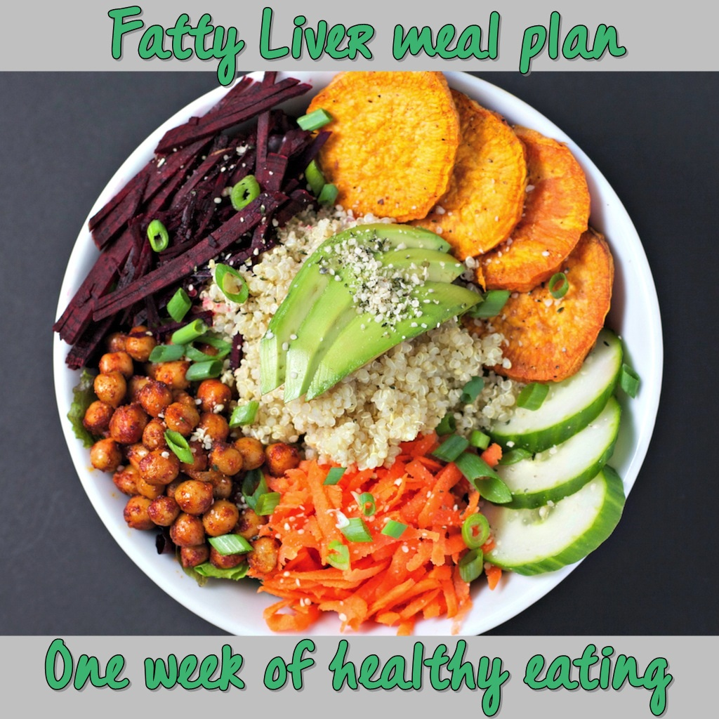 Fatty Liver Meal Plan for a Week