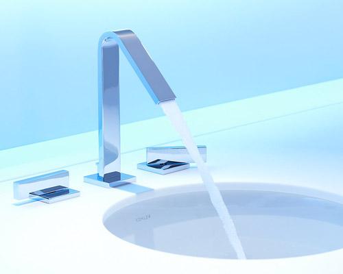 kohler k 14661 4 cp loure two handle widespread lavatory faucet chrome