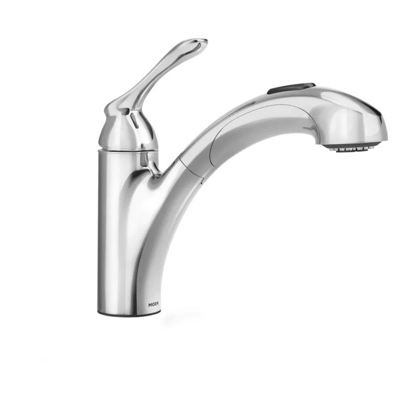 Moen 87017 Chrome Pullout Spray Kitchen Faucet From The