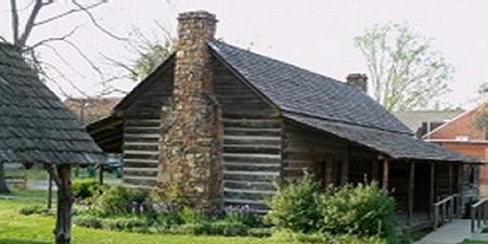 Dog Trot Cabin, Faulkner County Arkansas