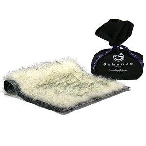 Couverture & plaid pour chien et chat Sabanah Metis Blue Ice taille XS, tissu JP Gaultier et fausse fourrure