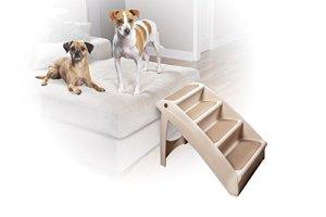 Solvit PetSafe – Escaliers pour animaux de compagnie pliables PetSafe PupStep Plus, 4 marches pour chien/chat