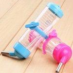 Toruiwa Hamster Bouteille d'eau Distributeur Eau biberon pour hamster rats gerbilles souris et autres petits animaux 125ml Bleu