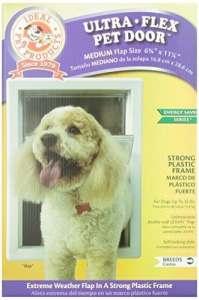 Idéal pour produits 65/20,3cm x 111/10,2cm M Ultra-Flex draftstopper Pet de porte avec cadre télescopique par Idéal Pet Products