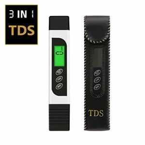 Pathonor Testeur TDS Stylo d'Essai de la Conductance de la Température Testeur de Qualité de l'eau Numérique Professional TDS Mètre de la Température Pen 3 en 1