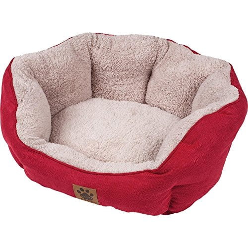 Precision Pet Clamshell Lit, Rouge