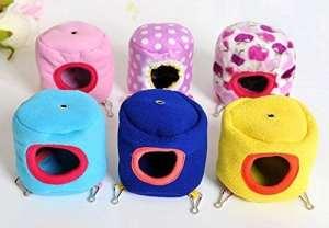 Kamoku1011pcs Cute Hamster Hiver chaud Cottat Hamac jouet pour animal domestique Rat Hamster Lit Cage pour petit animal (couleur aléatoire)
