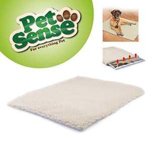 Tapis chauffant magique Petsense, auto-chauffant pour chiens / chats, couverture de luxe lavable 64x 46cm