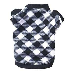 ❀Sweat-Shirt Vetement d'animal Compagnie,Pullover Chien/Chat Jacket Chihuahua Blousons Veste Petit Chien Pull Chaud Puppy Manteau Gilet (XS, Noir)