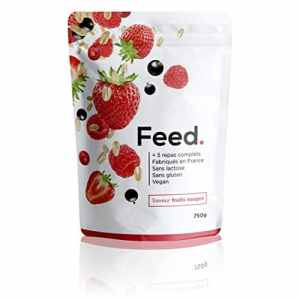 Feed – Sachet 5 repas complet fruits rouges – 750g