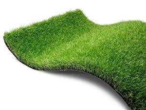 Gazon synthétique Pine Valley – Échantillon Pelouse Synthetique de Haute Qualité | Gazon Artificiel à l'Aspect Naturel | Pelouse Jardin Terrasse ou Balcon