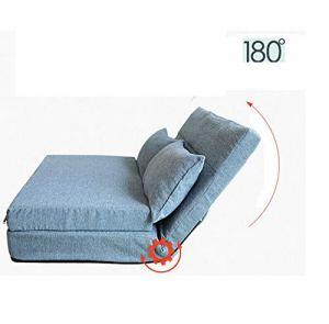 MOOMDDY Sofa Paresseux Pliable Lavable Tatami Simple Canapé-Lit Double Chaise De Tissu Chambre À Coucher