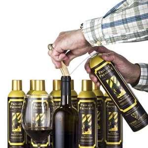 Private Preserve Vaporisateur de préservateur de vin | Un préservateur de vin empêche l'oxydation du vin, aérosol à gaz inerte pour vin et liqueurs