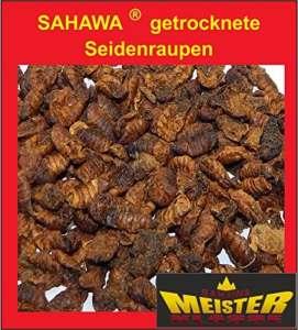 sahawa® _ soie chenilles getrocknet, koifutter, friandises, doublure de bassin