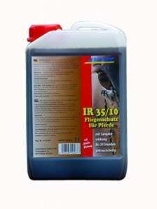 SCHOPF 302046 Solution anti-mouches pour protéger les chevaux Effet longue durée Contient de l'aloé vera 3 l