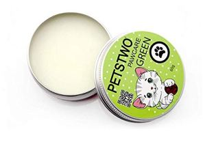 Baume de Patte pour Les Chiens bâton apaisante crème pour la Patte pour protéger et hydrater Le Nez et Le Tampon de craquage Sec de Chat de Menthe 10 oz 1pc
