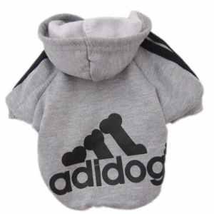 Manteau chaud doudoune avec attache harnais pour petit et moyen chien