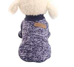 Manteau/pull polaire Aquiver pour petit chien – Chihuahua, yorkshire – Doux et chaud
