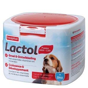 Beaphar – Lactol, Lait maternisé complet de substitution pour Chiots – 250 g