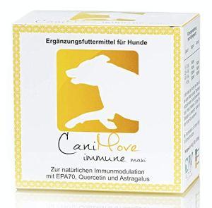 CaniMove EPA70 maxi, 100 gélules (1 boîte), Aliment complémentaire pour chiens pour l'immunomodulation. MHD 05/19