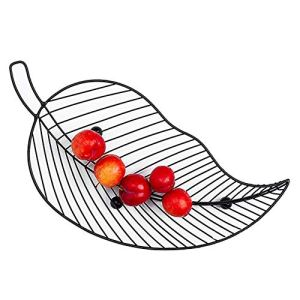 AIflyMi Coupe de Fruits en Forme de Feuille, Porte-Fruits innovant Porte-légumes Panier à Bonbons Coupe à Biscuits Fruits Coupe à légumes de Fruits Paniers à Oeufs de Cuisine