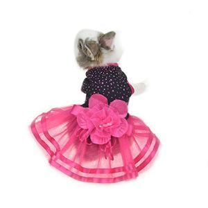 FLAdorepet Robe de Lapin Mignon Chihuahua Yorkie Vêtement pour Petit Animal