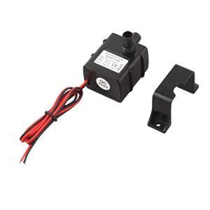 Jpstyle Mini Pompe à Eau Micro sans Brosse Ultra silencieuse de CC 12V 5W pour la consommation de Puissance Faible d'aquarium de Fontaine à Faible Bruit