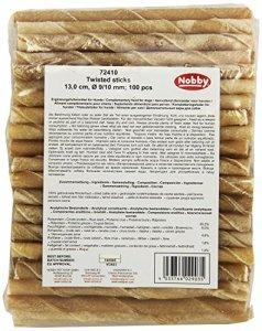 Nobby Friandise pour Chien Twisted Sticks Thaïlande 12,5 cm/9-10 mm