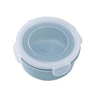 1pc Petit Bleu Sauce Snacks Cuisine Container Cuisine Fournitures Boîte de Rangement en Plastique Fruits Conservation des Aliments Boîte écologique Frais