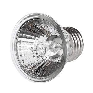 SaraHew74 50W tortue se chauffant lampe UV E27 amphibiens lézards chauffage lampe de reptile portable à spectre complet