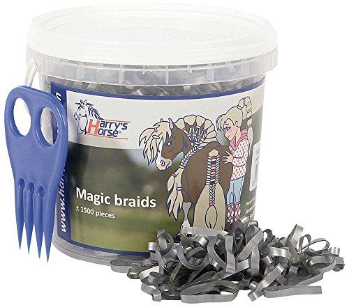 Harry's Horse 36000203-20 Seau Magic Braids Argenté