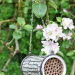 Wildlife World The la Pollinisation Company Bee Nester, Gris