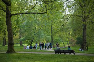 London's Green Park. Photo by DAVID ILIFF. License: CC-BY-SA 3.0