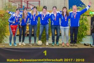 Die Frauen aus Jona sind Schweizer Meisterinnen