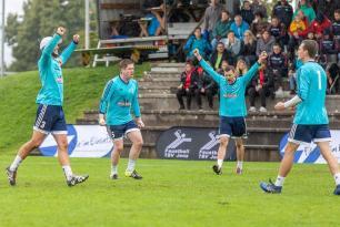 Faustball Final4 2019: Partie um Bronze Männer – FB Neuendorf vs. FG Rickenbach-Wilen – 4:1 (9:11/11:8/11:5/11:3/11:7)