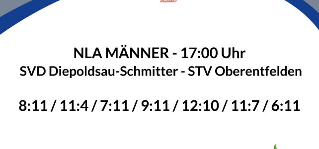 Faustball Final4 2021: 2. Halbfinal Männer –  SVD Diepoldsau-Schmitter – STV Oberentfelden – 3:4 (8:11 / 11:4 / 7:11 / 9:11 / 12:10 / 11:7 / 6:11)