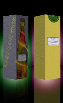 Moet Champagne Redesign