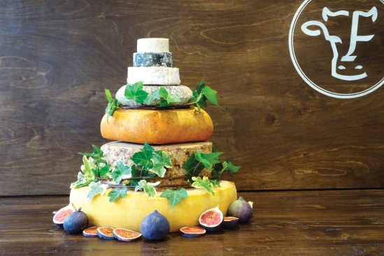 Bespoke cheese celebration towers