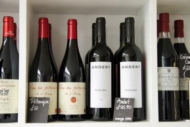 Organic & natural wines